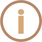 Custom project icon showing a letter 'I' in side a circle to indicate an informational message