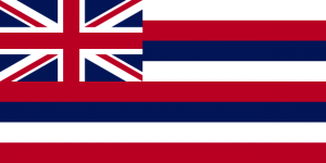 Flag of Hawai'i (credit: Open Clip ArtLibrary via Wikimedia Commons, available under Creative Commons CC0 Universal Public Domain Declaration)